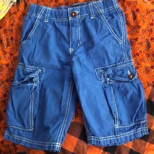 Mini Boden size 7 cargo shorts- EUC